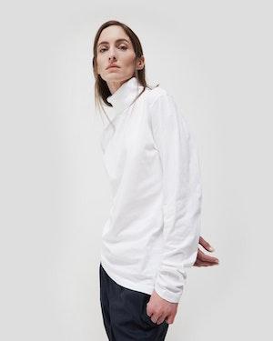 Meier Unisex Turtleneck T-Shirt by Want Les Essentiels - 2