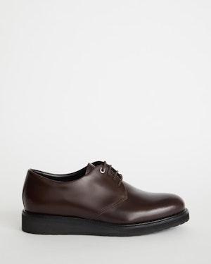 Menara Leather Wedge Derby Shoe by Want Les Essentiels - 1