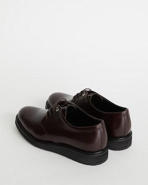 Menara Leather Wedge Derby Shoe by Want Les Essentiels - 3