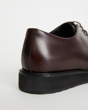Menara Leather Wedge Derby Shoe by Want Les Essentiels - 4