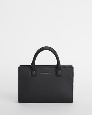 Mini Dresden Structured Leather Tote by Want Les Essentiels - 1