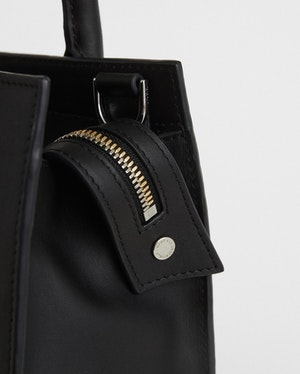 Mini Aberdeen Structured Leather Tote by Want Les Essentiels - 4