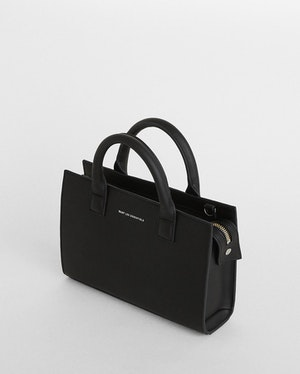 Mini Dresden Structured Leather Tote by Want Les Essentiels - 7