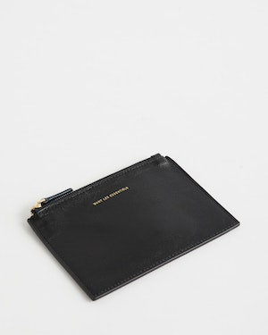 Mini Lawrence Leather Zip Pouch by Want Les Essentiels - 5