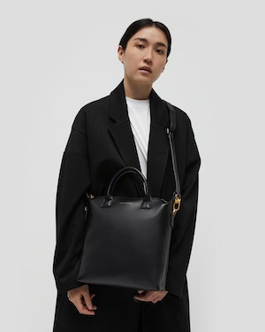 Mini O'Hare Leather Tote by Want Les Essentiels - 3