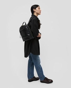 Mini Piper Leather Backpack by Want Les Essentiels - 4