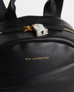 Mini Piper Leather Backpack by Want Les Essentiels - 5
