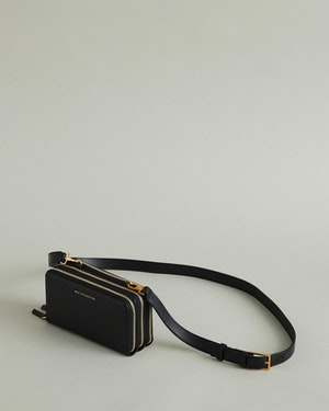 Petra Leather Zip Crossbody Bag by Want Les Essentiels - 5