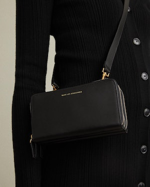 Petra Leather Zip Crossbody Bag by Want Les Essentiels - 7