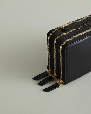 Petra Leather Zip Crossbody Bag by Want Les Essentiels - 8