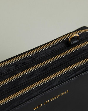Petra Leather Zip Crossbody Bag by Want Les Essentiels - 9