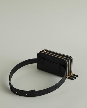 Petra Leather Zip Crossbody Bag by Want Les Essentiels - 11