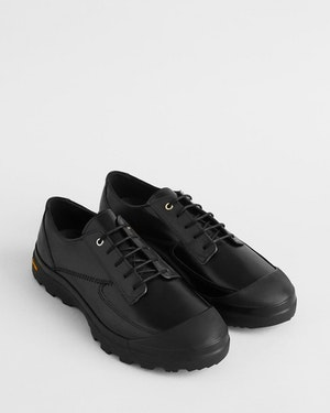 Pulkovo Women's Leather Derby Shoe by Want Les Essentiels - 2