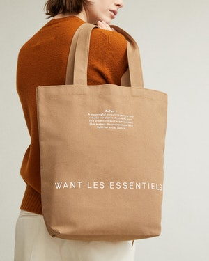 RePair Organic Cotton Tote by Want Les Essentiels - 7