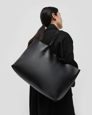 Strauss Leather Shopper Tote by Want Les Essentiels - 3