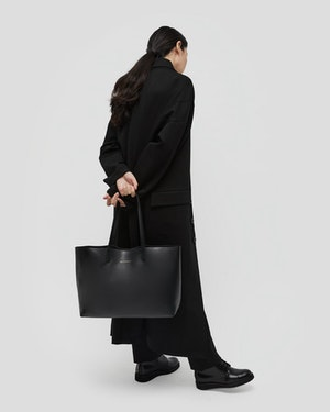 Strauss Leather Shopper Tote by Want Les Essentiels - 4