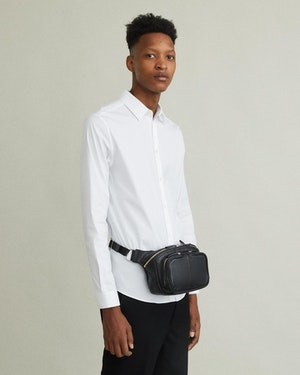 Testa Leather Waist Pack by Want Les Essentiels - 3