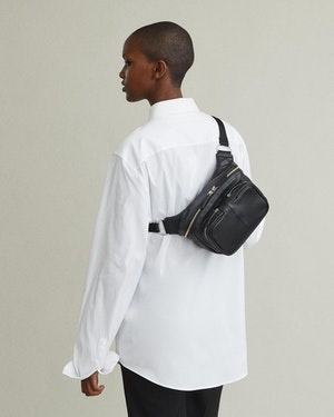 Testa Leather Waist Pack by Want Les Essentiels - 5