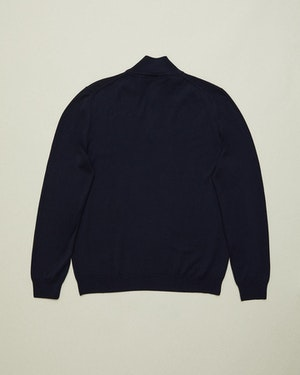 Trento Wool and Cashmere Unisex Half-Zip Pullover Sweater by Want Les Essentiels - 3