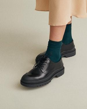 Wellington Women's Leather Derby Shoe by Want Les Essentiels - 4