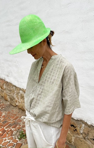 Flou Green Hat by Two - 3