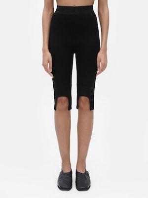 Everyday Knee Length Legging Black by Vaara - 1