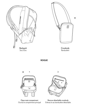 Rogue ECONYL® Utility Backpack by Want Les Essentiels - 5