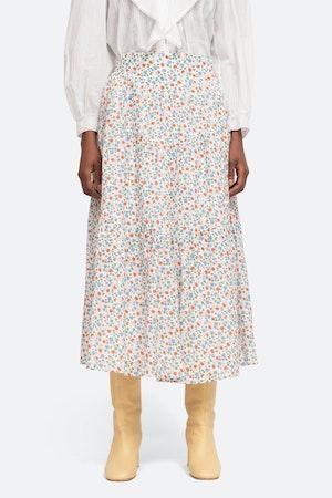 Bubbie Skirt by Sea - 1