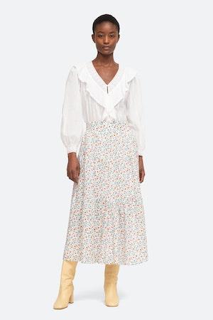 Bubbie Skirt by Sea - 4