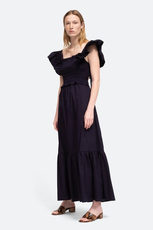 Gladys Smocked Dress by Sea - 2