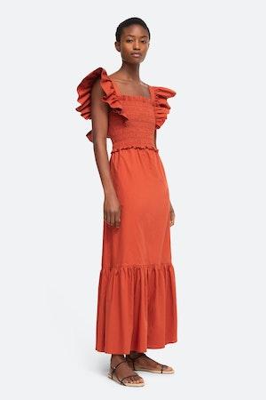 Gladys Smocked Dress by Sea - 1