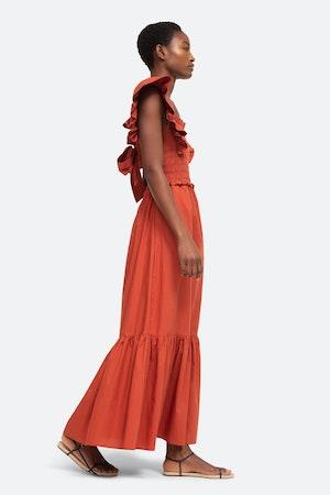 Gladys Smocked Dress by Sea - 3