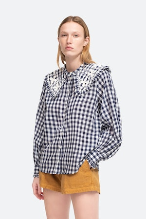 Gina Blouse by Sea - 4