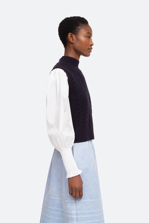 Melanie Sweater by Sea - 3