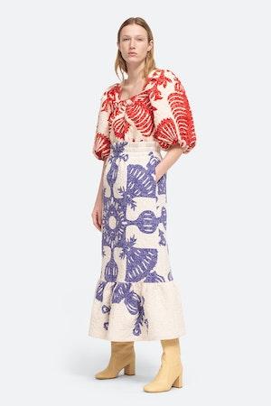 Henrietta Skirt by Sea - 4