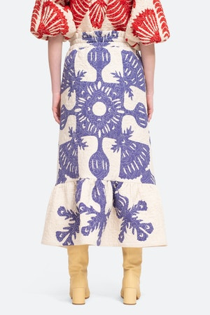 Henrietta Skirt by Sea - 2
