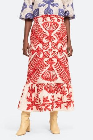 Henrietta Skirt by Sea - 1