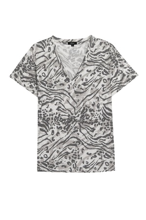THE CARA V NECK - SAND BENGAL by Rails - 1