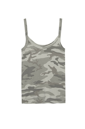 THE FITTED TANK - LAUREL CAMO by Rails - 1