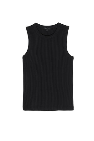 THE RACER TANK - BLACK by Rails - 1