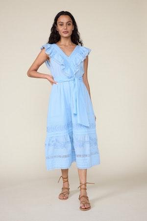 WONDERLAND DRESS – CERULEAN BLUE by St. Roche - 2