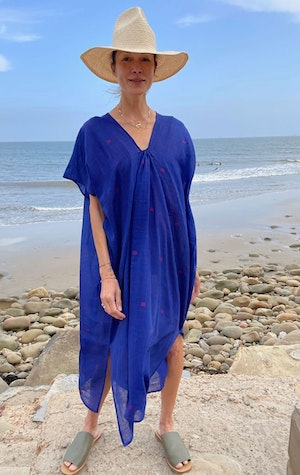 Supersoft Blue Dress by Two - 2