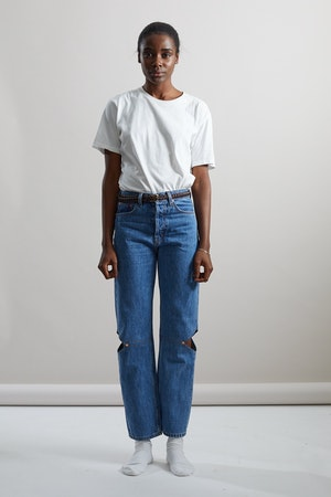 Cowgirl Jean in Classic Blue by Still Here - 1