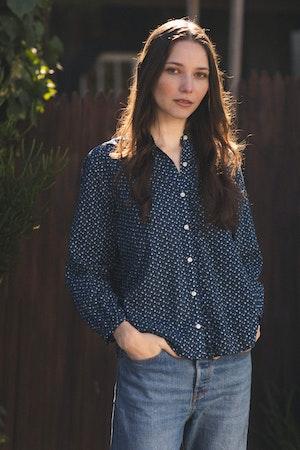 Helena Shirt SEAVIEW DITSY by Trovata - 1