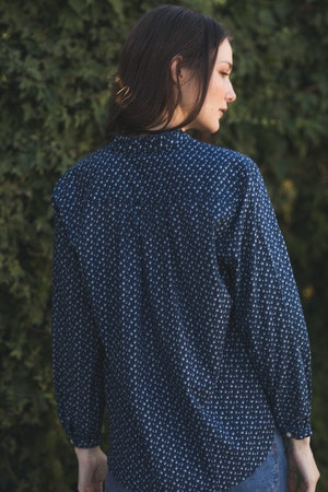 Helena Shirt SEAVIEW DITSY by Trovata - 3