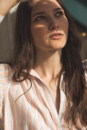 Courtney Henley PARKER PINSTRIPE by Trovata - 3