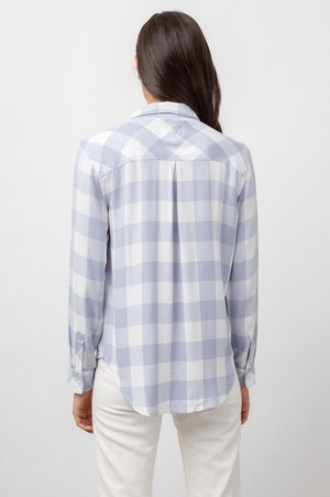HUNTER - PERIWINKLE WHITE CHECK by Rails - 5