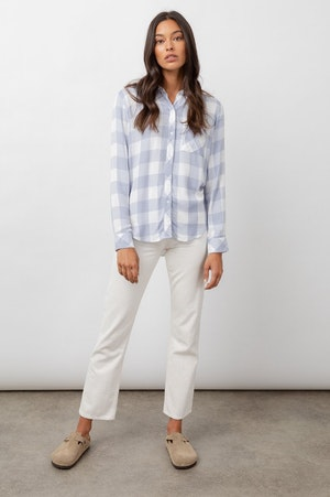 HUNTER - PERIWINKLE WHITE CHECK by Rails - 3