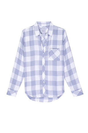 HUNTER - PERIWINKLE WHITE CHECK by Rails - 1
