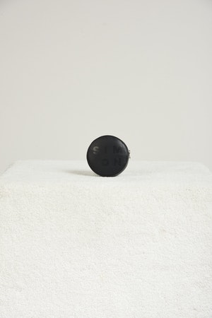 Pop Pouch in Black by Simon Miller - 1